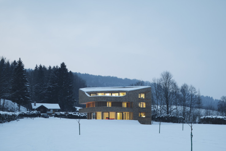 Bembé Dellinger Architekten und Stadtplaner Holzhaus im Naturschutzgebiet