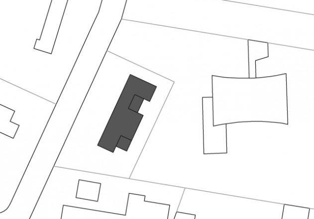 Gattermann Schossig Architekten Bungalow im Gruenen Lageplan