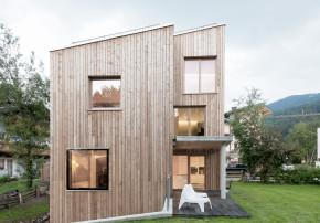 LP Architektur Fast ein Wohnturm Aussenansicht