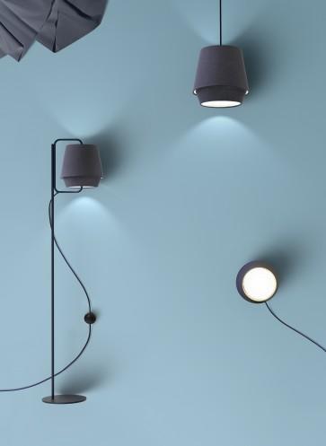 Leuchte-Stoff-Skandinavisches-Design