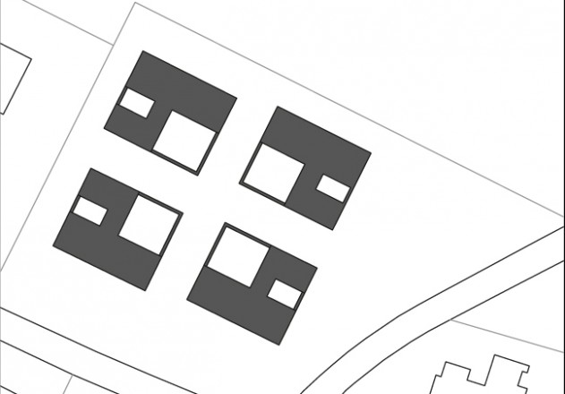 think-architecture-vier-hofhaeuser-lageplan