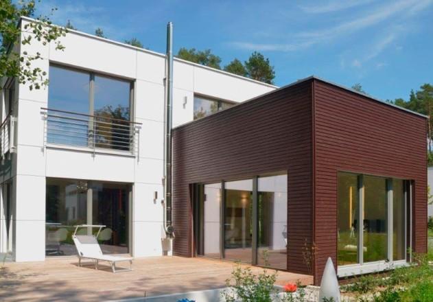 Architekturbüro Nouri-Schellinger Passivhaus Clubs Gartenansicht