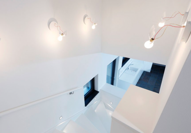Architekturbüro Nouri Schellinger Passivhaus Treppenhaus