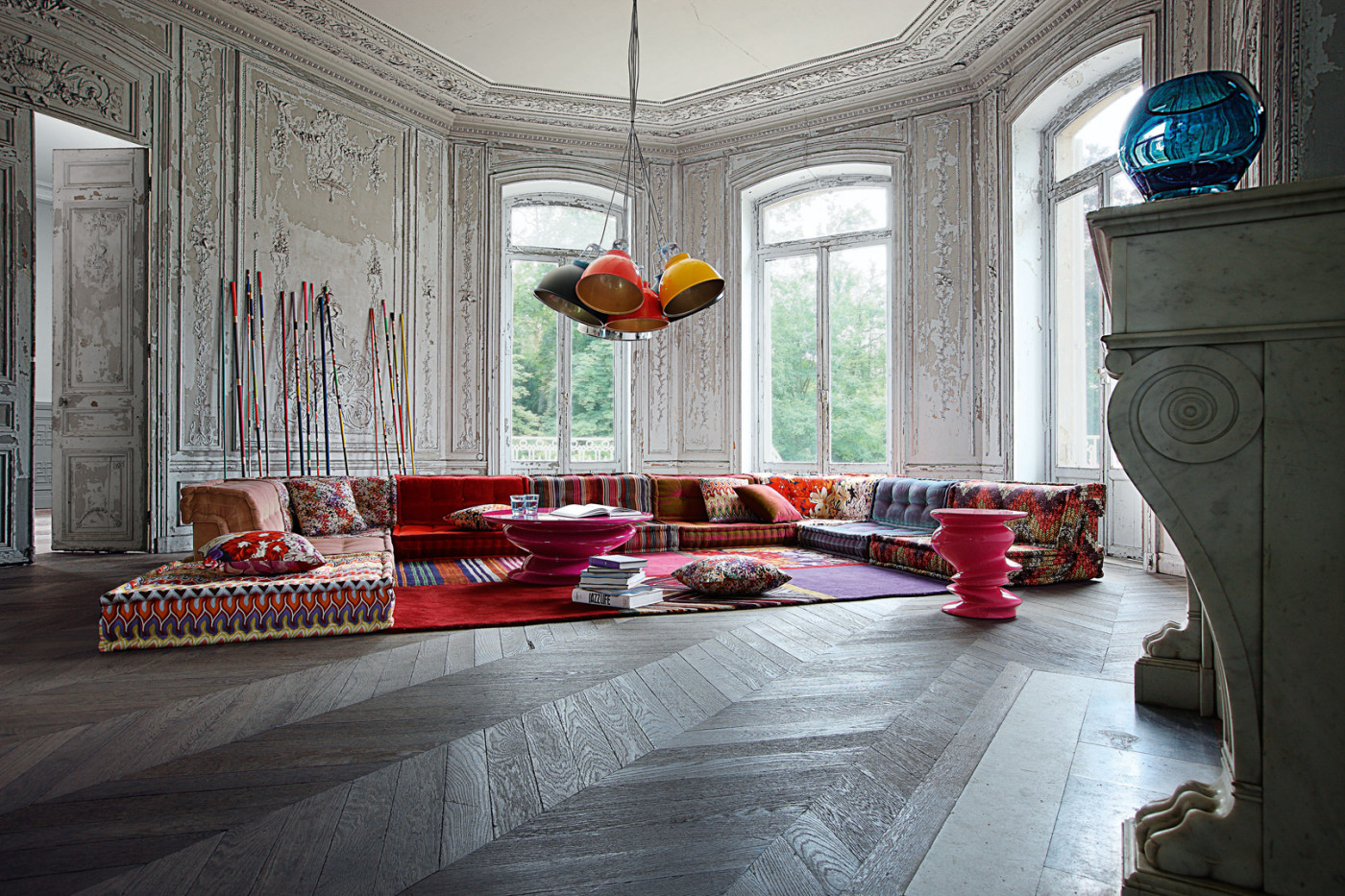sofa mah jong von roche bobois produkttrends. Black Bedroom Furniture Sets. Home Design Ideas