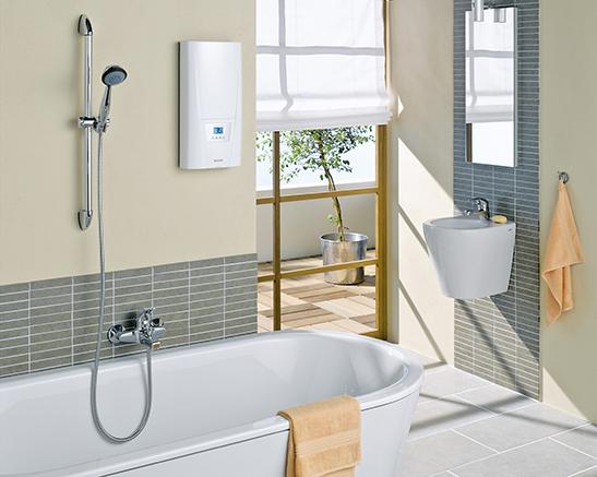 Duschen und sparen: mit dem Durchlauferhitzer von Clage