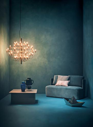 FLOS Wohnzimmer Beleuchtung
