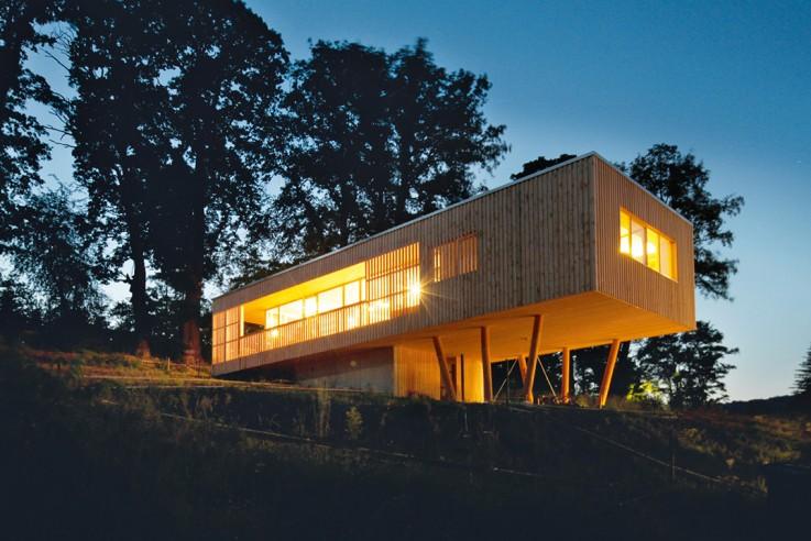 Juri Troy Architects Haus Unter den Eichen Hausbau Budet Finanzplanung