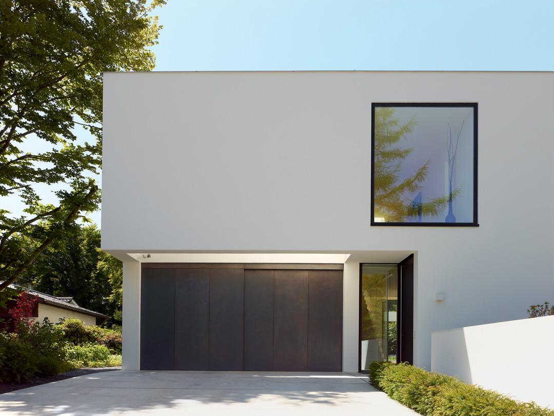 raumcollage mit durchblick wohnhaus am starnberger see. Black Bedroom Furniture Sets. Home Design Ideas