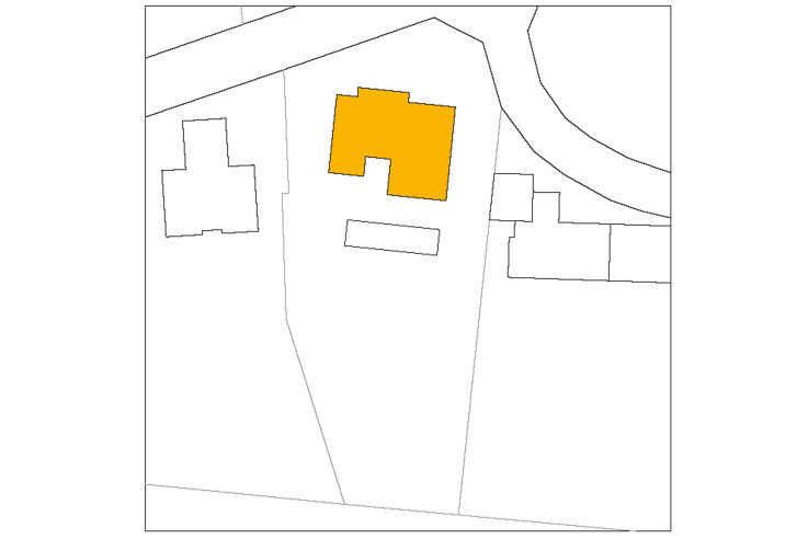 Titus Bernhard Architekten Wohnhaus am Starnberger See Lageplan