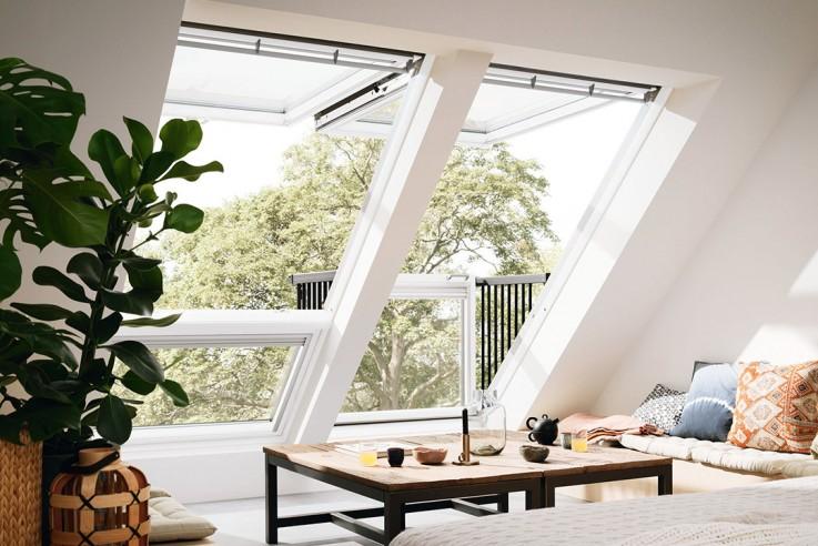 Velux Dachfenster Mini Balkon