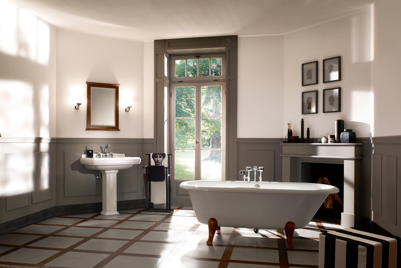 freistehende badewanne hommage von villeroy boch. Black Bedroom Furniture Sets. Home Design Ideas