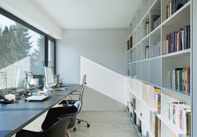 Gramming Rosenmueller Architekten Einfamilienhaus Bachern Woerthsee Buero