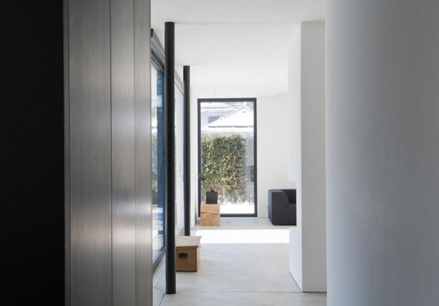 Gramming Rosenmueller Architekten Einfamilienhaus Bachern Woerthsee Flur