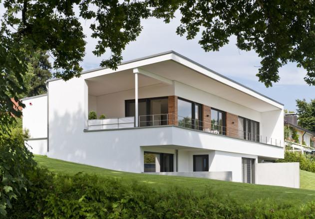 Gramming Rosenmueller Architekten Einfamilienhaus mit Einliegerwohnung Aussenansicht