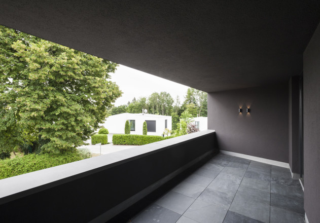 Gramming Rosenmueller Architekten Wohnhaus Poecking Balkon