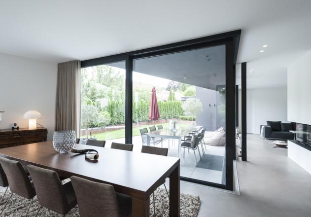 Gramming Rosenmueller Architekten Wohnhaus Poecking Esszimmer