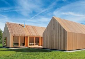 Kuehnlein Architektur Holzhaus mit Hof modern