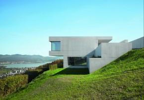 Be Zuerich Villa mit Panorama Betonhaus