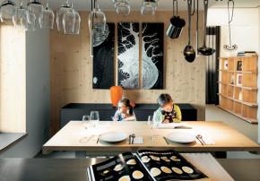 Architekturbuero Schildhammer behagliche Effizienz Essbereich