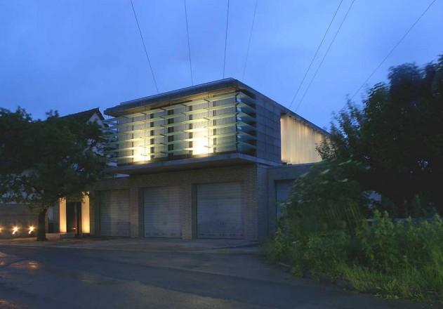 Nieberg Architect Architektenprofil Einfamilienhaus Garage