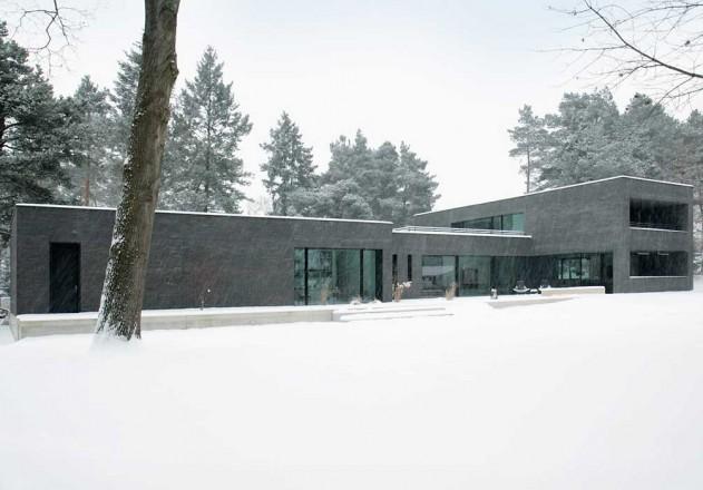 Nieberg Architect Architektenprofil Einfamilienhaus Grundstueck Garten