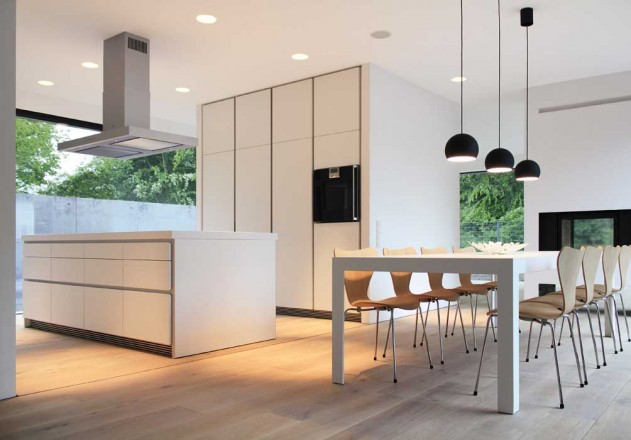 Nieberg Architect Architektenprofil Einfamilienhaus Hannover Kueche