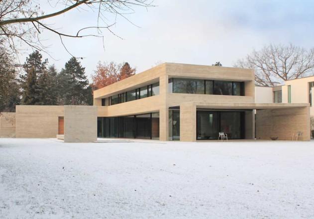 Nieberg Architect Architektenprofil Wohnhaus Braunschweig Garten