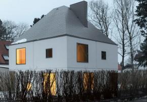 Schaeffer Architecture Technology flexibler Grundriss flexibles Wohnen gedaemmter Ziegel