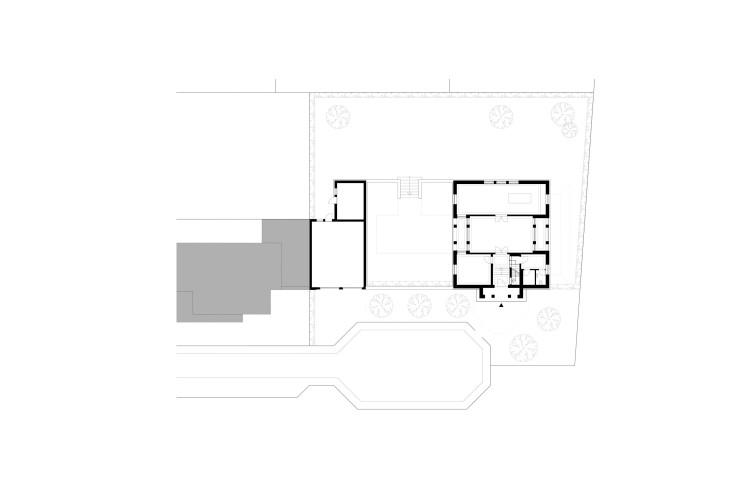 Axel Steudel wohnen nach traditionellem Vorbild Grundriss Erdgeschoss