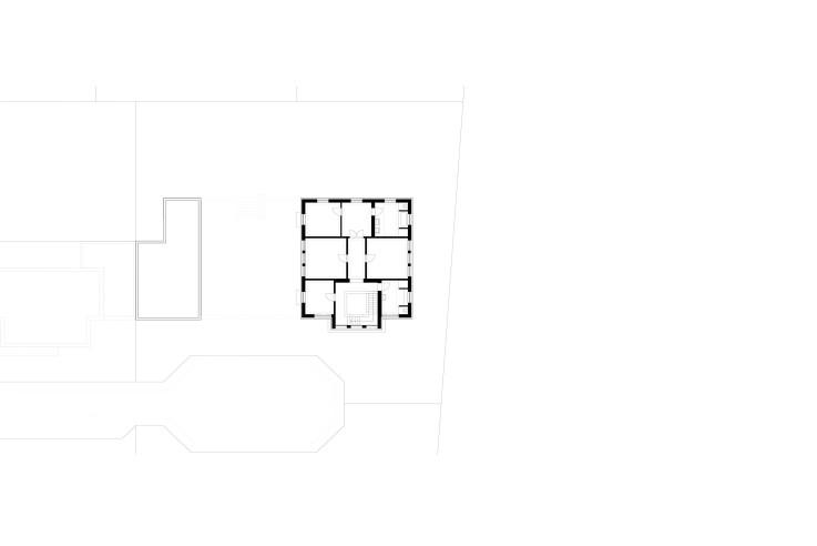Axel Steudel wohnen nach traditionellem Vorbild Grundriss Obergeschoss