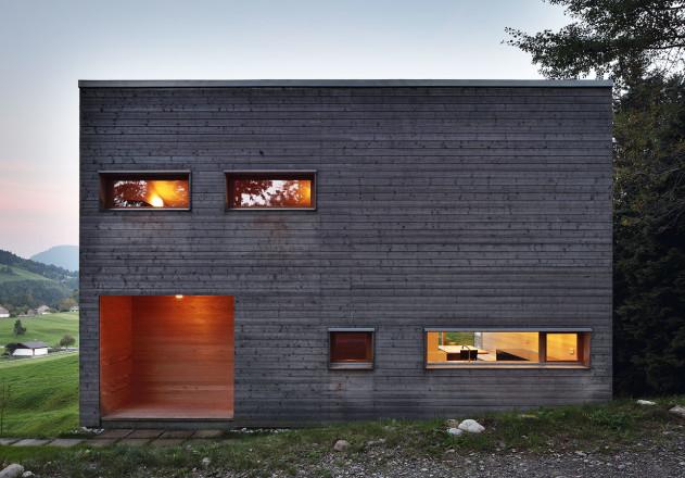 Benedikt Bosch ein Wochenendhaus Fensterluke