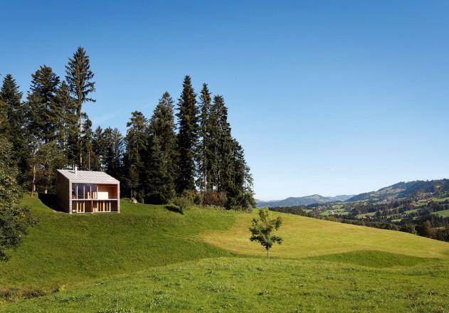 Benedikt Bosch ein Wochenendhaus mitten in der Natur