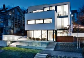 Fuchs Wacker Architekten Terrassenhaus am Hang Garten