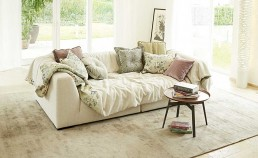Sophisticated Living Sofa Solid Wave Wohnbeipsiel