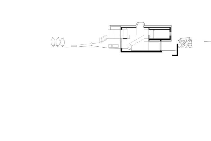 Architekten Kerschbaumer Pichler Partner Klimahaus aus Beton Schnitt