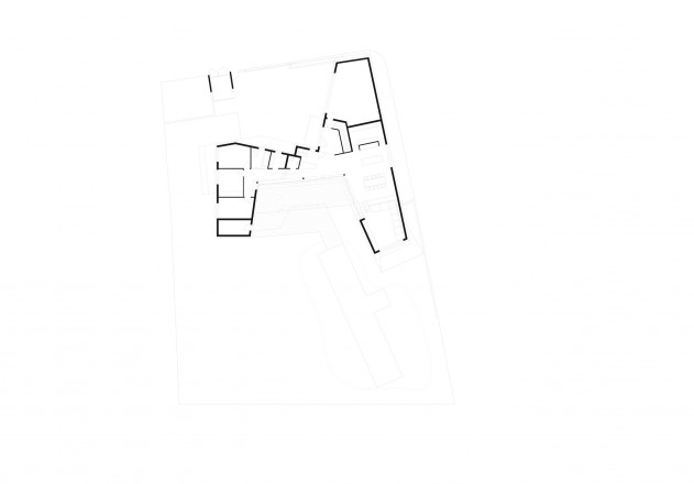 Yes Architecture nachhaltiges Holzhaus Grundriss Erdgeschoss
