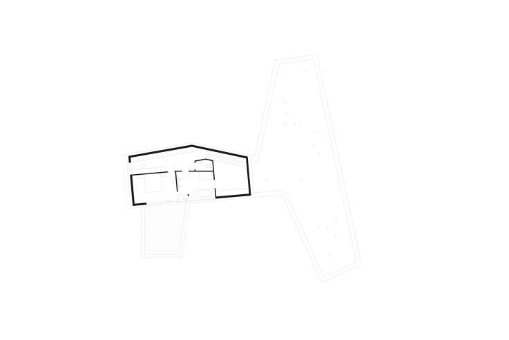 Yes Architecture nachhaltiges Holzhaus Grundriss Obergeschoss