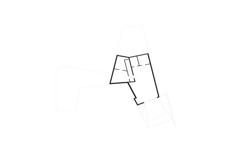 Yes Architecture nachhaltiges Holzhaus Grundriss Untergeschoss