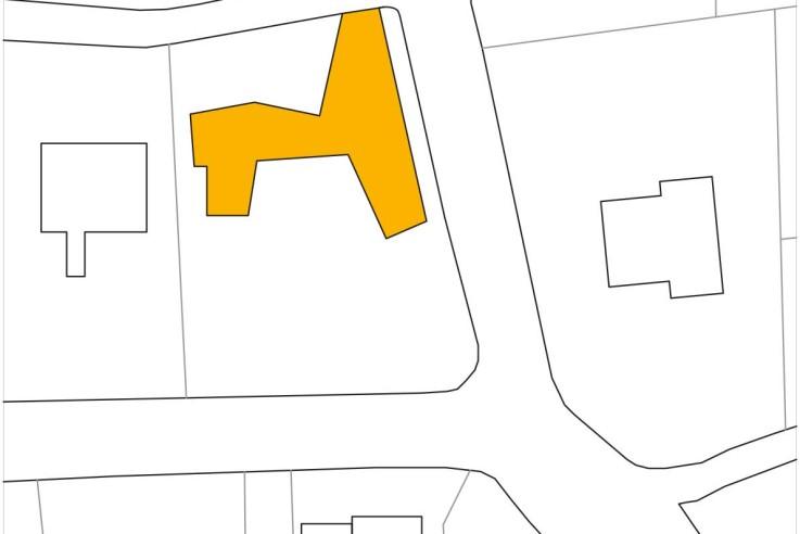 Yes Architecture nachhaltiges Holzhaus Lageplan