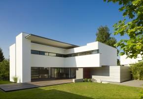Alexander Brenner Architekten zwei Einfamilienhäuser Garten Grundstueck