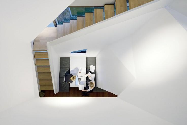 Andreas Vetter Kolumne Einfamilienhaus Garderobe Treppe