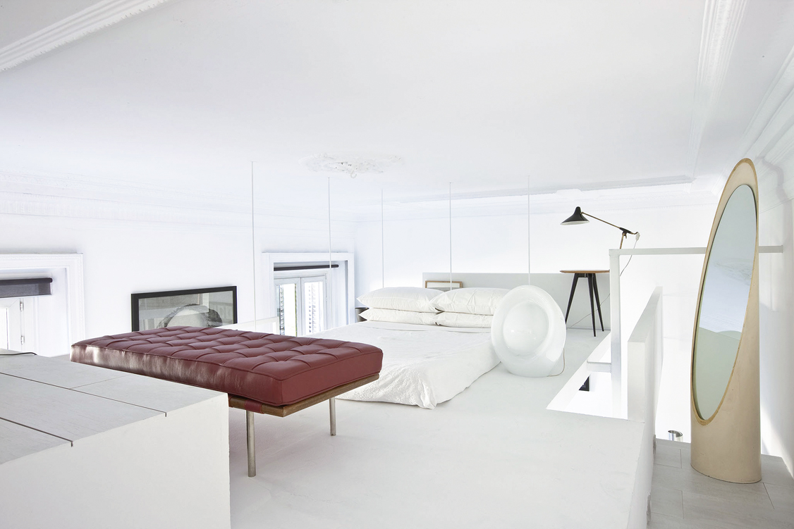 Andreas Vetter Kolumne Tour de Haus SchlafzimmerAndreas Vetter Kolumne Tour de Haus modernes Ambiente Schlafzimmer