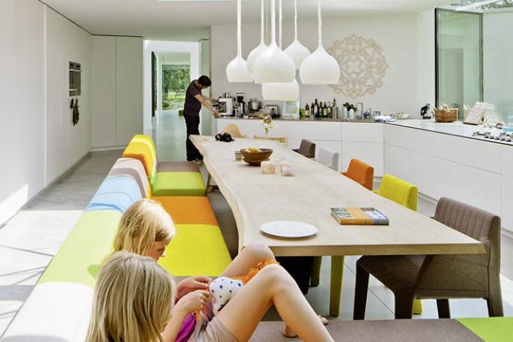 Andreas Vetter Kolumne Tour de Haus offener Wohnbereich Essbereich Einfamilienhaus