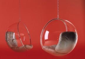 Bubble Chair Adelta Eero Aarnio Acryl Leder