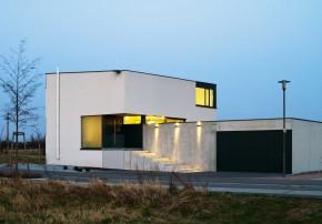 Joellenbeck Wolf Architekten ein Bürgermeisterhaus Betonhaus Einfamilienhaus