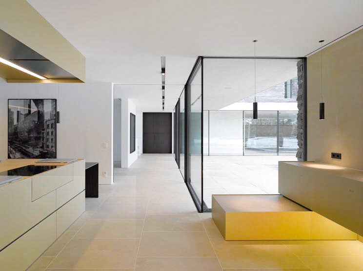 Good Moderne Hauser Innen Kuche Ihr Traumhaus Ideen With Huser Von Innen