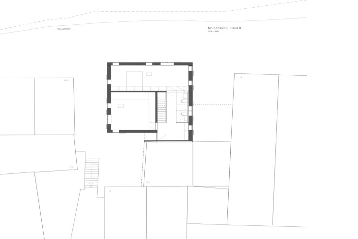 Christine Remensperger ein Mehrgenerationenhaus Grundriss Erdgeschoss