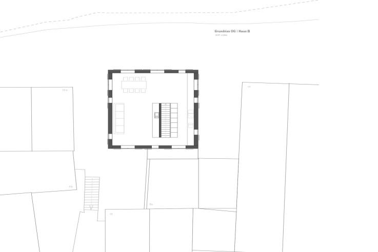 Christine Remensperger ein Mehrgenerationenhaus Grundriss Obergeschoss
