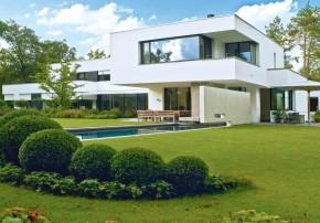 Design Associates Villa am Waldrand Einfamilienhaus Garten
