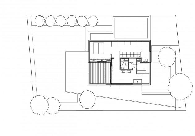 Lynx Architecture weniger ist mehr Grundriss Dachgeschoss